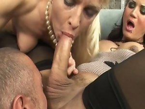 A nice guy is being forced to serve Alexandra and her slut wishes. In this threesome you can find all you looking for. Domination first of all but als