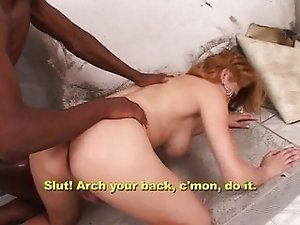 Undercover shemale anal fucked properly